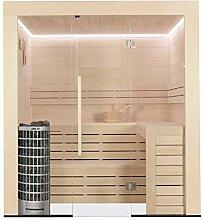 EO-SPA Sauna E1202C Pappelholz/202x168/9kW Cilindro