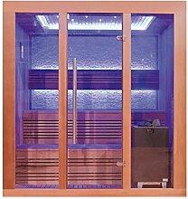 EO-SPA Sauna E1244C rote Zeder/160x150/9kW EOS Cubo