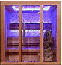 EO-SPA Sauna E1244C rote Zeder/160x150/9kW Kivi