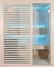 EO-SPA Sauna E1410C Pappelholz 120x105 6.8kW Cilindro