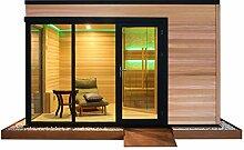 EO-SPA Sauna LT08 rote Zeder 400x300 9kW Vitra