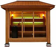 EO-SPA Sauna LT1502A rote Zeder/350x250/13.5kW Vitra