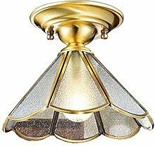 Eouby Deckenleuchte Kupfer Antik Deckenlampe Antik