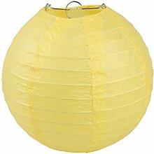 EOZY 5er Gelb Lampions Japankugel Papierlampe