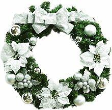 EOZY Weihnachten Kranz Deko Adventskranz