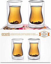 Eparé 175 ml Isoliertes Teeglas (2er Set) -