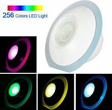 ePathChina® Einzigartige UFO-Form 256 bunte Licht Mood Light stimmungslicht stimmungslampe Licht Lampe Farbwechsel Lichter mit Touchscreen Bildlaufleiste für die gewünschte Atmosphäre schaffen
