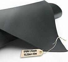 EPDM - Teichfolie Firestone 1,15mm in 12m x 15,25m