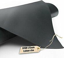EPDM - Teichfolie Firestone 1,15mm in 6m x 3,05m