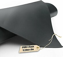 EPDM - Teichfolie Firestone 1,15mm in 8m x 12,20m