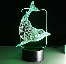 Ephvan 3D-Lampe, 3D-Musik-Visualisierung, 7