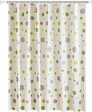 Epinki Duschvorhang Polyester Blumen Design