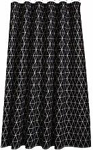 Epinki Duschvorhang Polyester Netz Design Vorhang