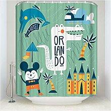 Epinki Duschvorhang Polyester Orlando Design