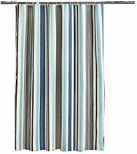 Epinki Duschvorhang Polyester Streifen Design