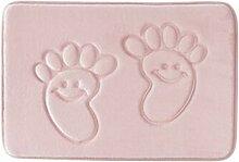 Epinki Flanell Teppiche Fußabdruck Muster
