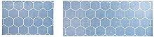 Epinki Flanell Teppiche Geometrisch Muster