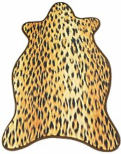 Epinki Flanell Teppiche Leopard Muster Teppiche