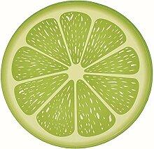 Epinki Flanell Teppiche Lime Muster Teppiche für