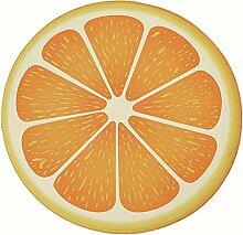 Epinki Flanell Teppiche Orange Muster Teppiche