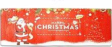 Epinki Flanell Teppiche Santa Claus Muster