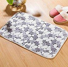 Epinki Flanell Teppiche Stein Muster Teppiche für