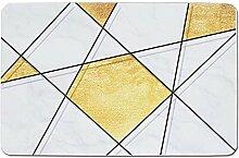 Epinki Kieselgur Teppiche Geometrisch Muster