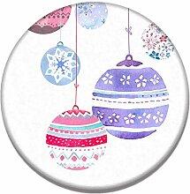 Epinki Kieselgur Teppiche Weihnachtskugeln Muster