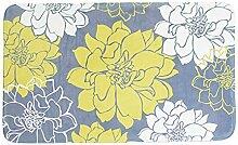 Epinki Polyester Teppiche Blumen Muster Teppiche