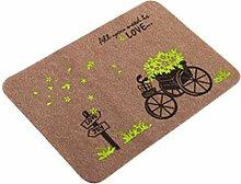 Epinki Polyester Teppiche Fahrrad Muster Teppiche