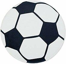 Epinki Polyester Teppiche Fußball Muster Teppiche