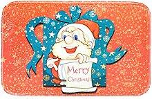 Epinki Polyester Teppiche Santa Claus Muster