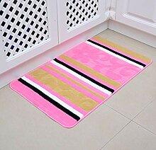 Epinki Polyester Teppiche Streifen Muster Teppiche