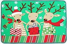 Epinki Polyester Teppiche Three Hirsch Muster