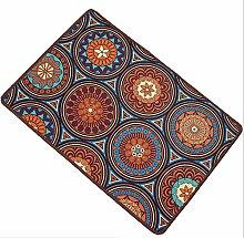 Epinki Polyester Teppiche Vintage Muster Teppiche