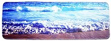 Epinki Polyester Teppiche Welle Muster Teppiche