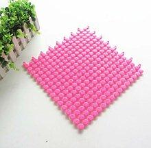 Epinki PVC Teppiche Diy Muster Teppiche für