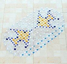 Epinki PVC Teppiche Pisces Muster Teppiche für