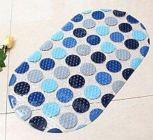 Epinki PVC Teppiche Rund Muster Teppiche für