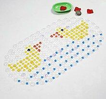 Epinki PVC Teppiche Zwei Enten Muster Teppiche
