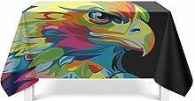 Epinki Tischdecken aus Polyester Adler Design