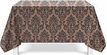 Epinki Tischdecken aus Polyester Blumen Design