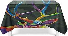 Epinki Tischdecken aus Polyester Elch Design