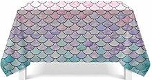 Epinki Tischdecken aus Polyester Fischschule