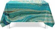 Epinki Tischdecken aus Polyester Flüsse Design