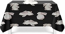 Epinki Tischdecken aus Polyester Hase Design