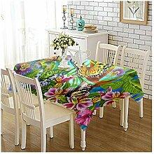 Epinki Tischdecken aus Polyester Schmetterling