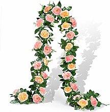 EPLST Künstliche Blumengirlande, künstliche
