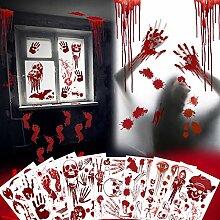 EPN Blutiger Aufkleber für Halloween-Partys, 140