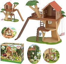 Epoch Sylvanian Families Baumhaus mit 3 Etagen und
